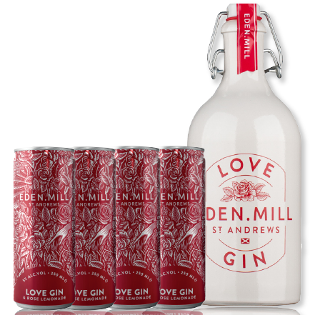 Love Gin & Love Gin Can Bundle | Eden Mill Distillery St Andrews