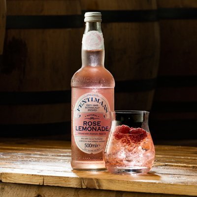 Fentimans Rose Lemonade Mixer | Eden Mill Distillery St Andrews