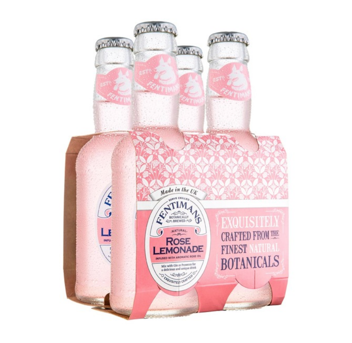 Rose Lemonade 4xPack | Eden Mill Distillery St Andrews