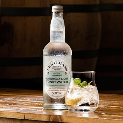 Fentimans Light Tonic Water Mixer | Eden Mill Distillery St Andrews