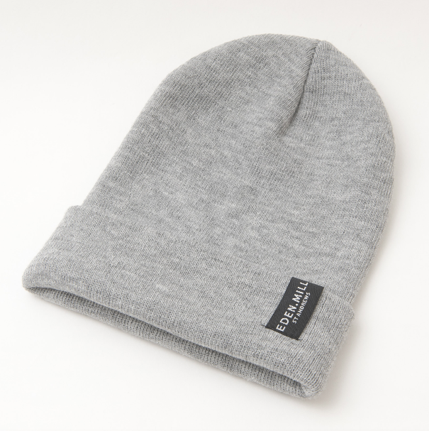 Grey Beanie Hat | Eden Mill Distillery St Andrews