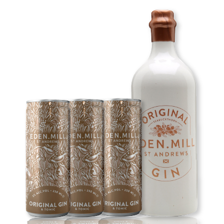 Original Gin & Pre-Mixed Cans Bundle | Eden Mill Distillery St Andrews