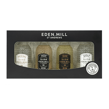 Core Gin Range Miniatures (4 x 5CL) Gift Set | Eden Mill Distillery St Andrews