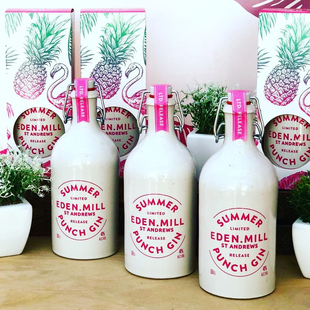 Summer Punch Gin | Eden Mill Distillery St Andrews