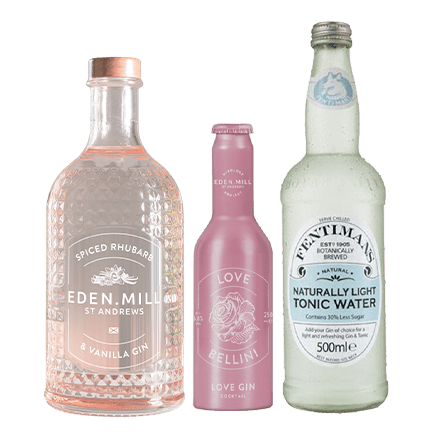 Spiced Rhubarb & Vanilla Gin Treat Box | Eden Mill Distillery St Andrews