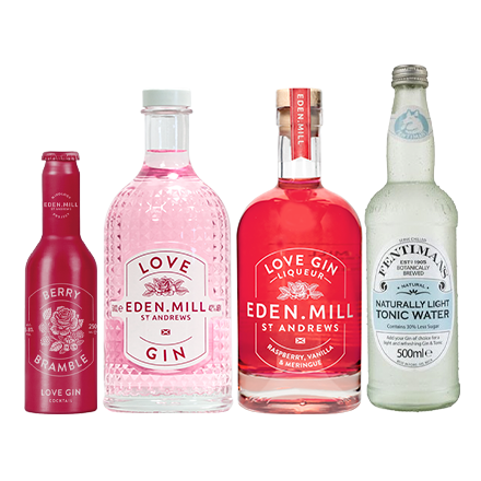 Love Gin Delight Treat Box | Eden Mill Distillery St Andrews