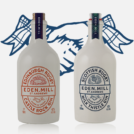 Edinburgh Rugby Gin & Scottish Rugby Gin | Eden Mill Distillery St Andrews