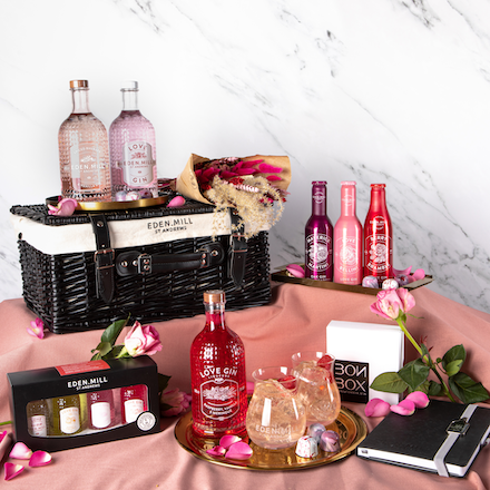 A Time For Love Valentine's Day Hamper | Eden Mill Distillery St Andrews
