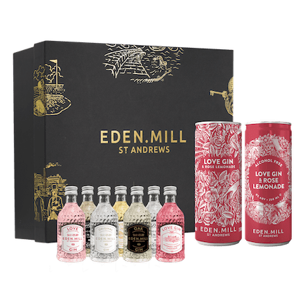 Valentine's Special Virtual Gin Tasting - Sunday 14th February at 4PM | Eden Mill Distillery St Andrews