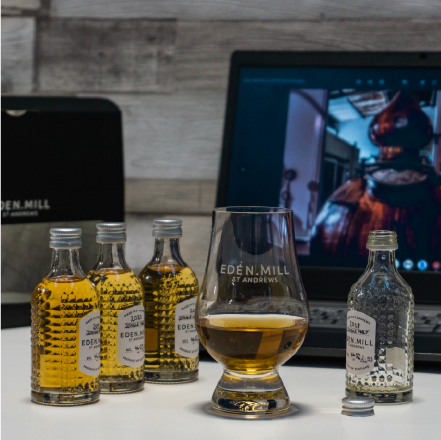 Virtual Whisky Tasting Experience - Friday 20th August 7PM   Eden Mill Distillery St Andrews